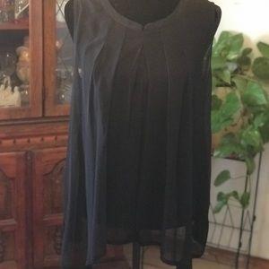 Worthington  black blouse